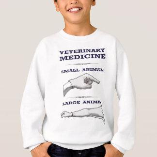 Grand et petit humoristique vétérinaire animal sweatshirt