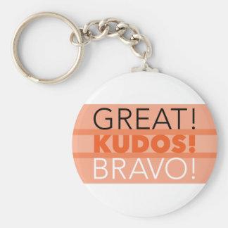 """Grand ! Félicitations ! Bravo ! 2,25"""" porte - clé, Porte-clés"""