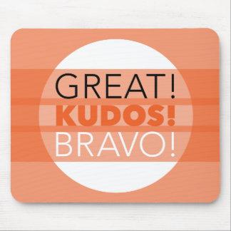 Grand ! Félicitations ! Bravo ! Mousepad Tapis De Souris