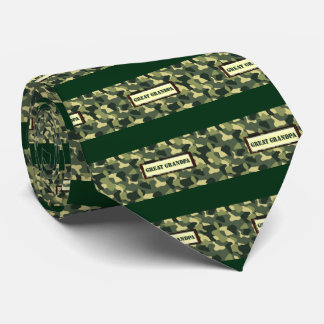 Grand grand-papa Camo Cravates