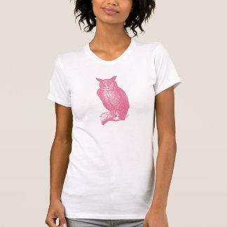 Grand hibou à cornes t-shirt