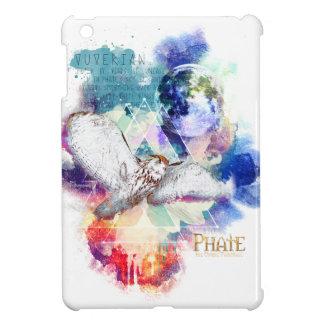 Grand hibou blanc de Phate-Vu Verian-The Coque Pour iPad Mini