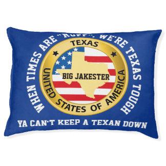 Grand lit le Texas de coussin de chien dur