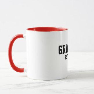 Grand-maman-à-est la tasse