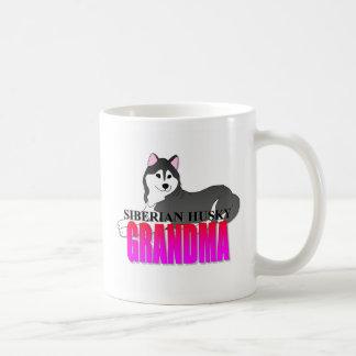 Grand-maman de chien de chien de traîneau sibérien mug
