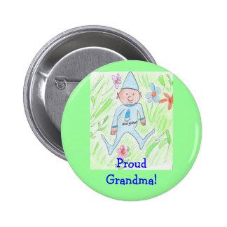 Grand-maman fière ! badge