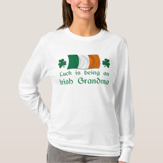Grand-maman irlandaise chanceuse t-shirt