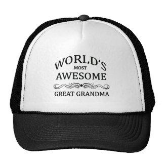 Grand-maman la plus impressionnante du monde la gr casquette de camionneur