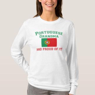 Grand-maman portugaise fière t-shirt