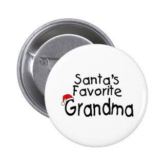 Grand-maman préférée 1 de Santa Badge