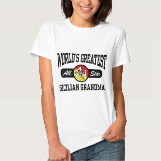 Grand-maman sicilienne t-shirt