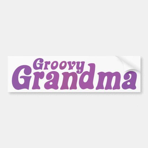 Grand-maman super autocollant pour voiture