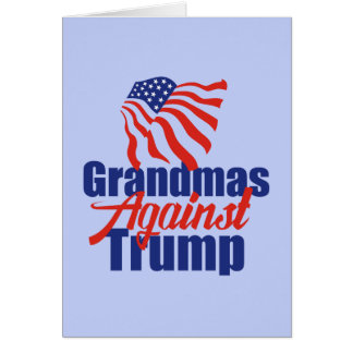 Grand-mamans contre l'atout carte de vœux