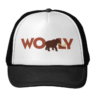 Grand mammouth Wooly Casquette Trucker