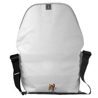 Grand Messenger Bag Impression extérieure Sacoches