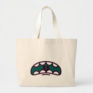 Grand monstre drôle de bouche grand sac