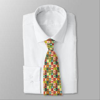 Grand motif de Noël Cravate