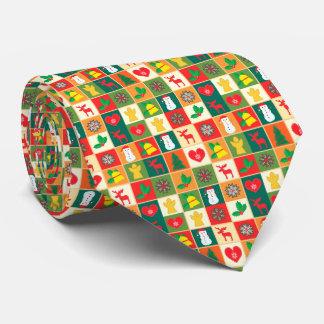 Grand motif de Noël Cravates