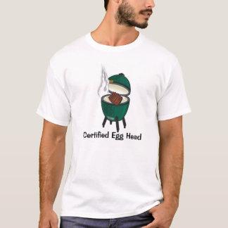 Grand oeuf vert, tête certifiée d'oeufs t-shirt