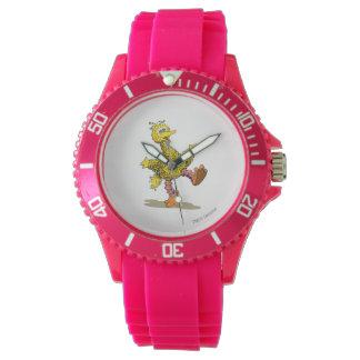 Grand oiseau de rétro art montres bracelet