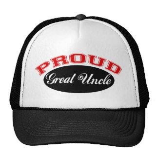Grand oncle fier casquette de camionneur