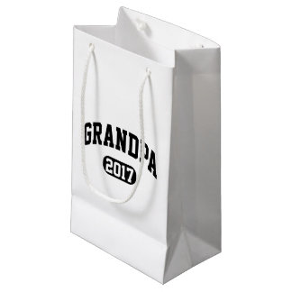 Grand-papa 2017 petit sac cadeau