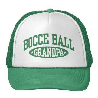 Grand-papa de boule de Bocce Casquettes De Camionneur