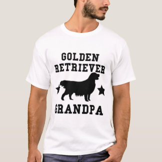 Grand-papa de golden retriever t-shirt