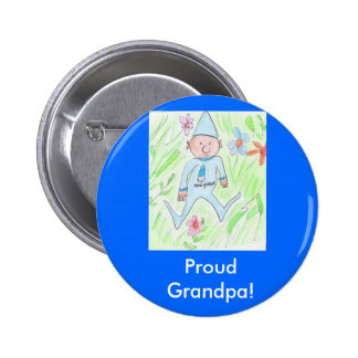 Grand-papa fier ! badges avec agrafe