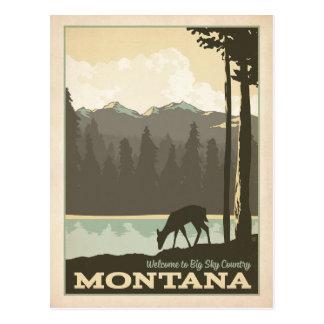 Grand pays | Montana de ciel Carte Postale