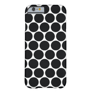 Grand point noir coque barely there iPhone 6