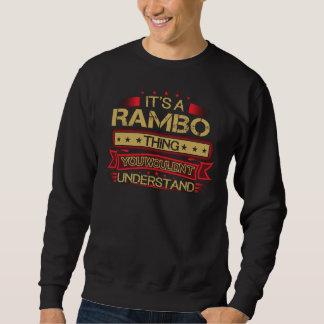 Grand pour être T-shirt de RAMBO