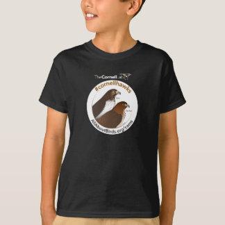 Grand rouge et chemise d'illustration d'Ezra T-shirt