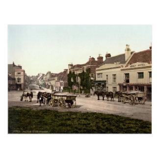Grand-rue, bataille, le Sussex est, c.1895 Carte Postale