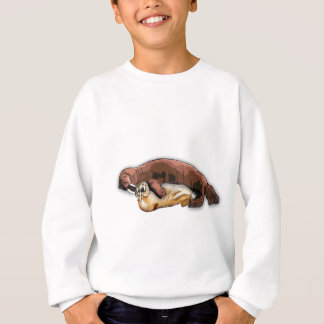 GRAND Russ… aime sa maman, beaucoup. Sweatshirt