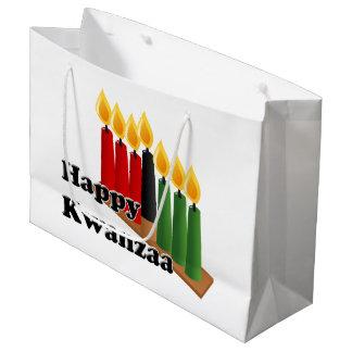 Grand Sac Cadeau 12-26 Kwanzaa heureux