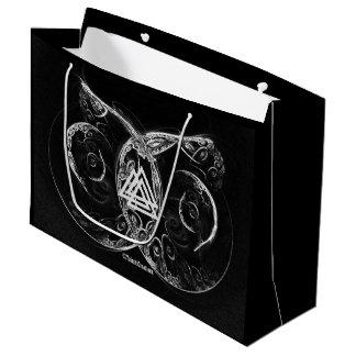 Grand Sac Cadeau Augmenter de Valknut - de Viking