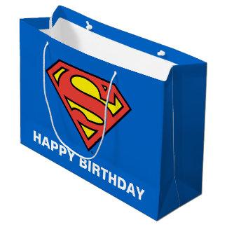 Grand Sac Cadeau Bandes dessinées de C.C | Superman - anniversaire