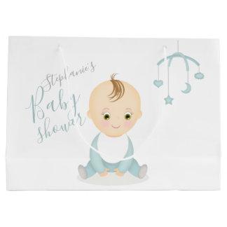 Grand Sac Cadeau Bébé mignon et son baby shower mobile