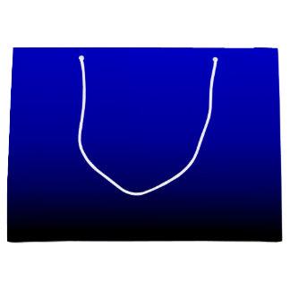 Grand Sac Cadeau Bleu électrique
