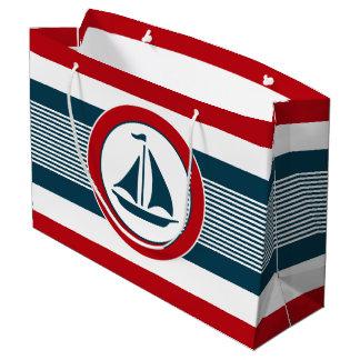 Grand Sac Cadeau Conception nautique