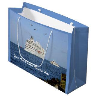 Grand Sac Cadeau Dirigeant les mers personnalisées