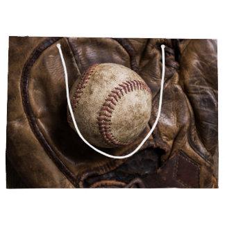 Grand Sac Cadeau Équipement de base-ball vintage