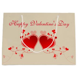 Grand Sac Cadeau Heureuse Sainte-Valentin