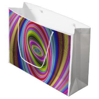 Grand Sac Cadeau Hypnose colorée