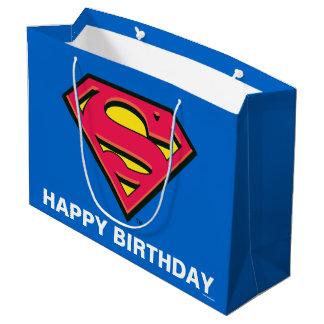 Grand Sac Cadeau Logo classique des bandes dessinées | Superman |