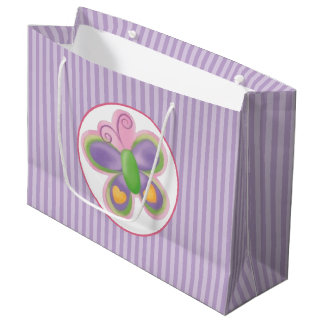 Grand Sac Cadeau Papillon 2