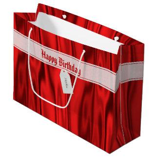 """Grand Sac Cadeau Personnalisez le """"joyeux anniversaire"""" sur le"""