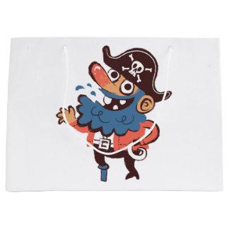 Grand Sac Cadeau Pirate - aléatoire