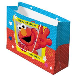 Grand Sac Cadeau Sesame Street | Elmo - anniversaire de point et